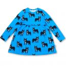 JNY Bulldog Print Sweet Dress
